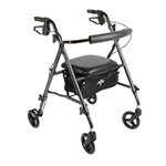 Medline Ultralight Rollator - This revolutionary rollator offers many unique features, it weig