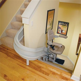 Elite Curved Stairlift - Image Number 94043